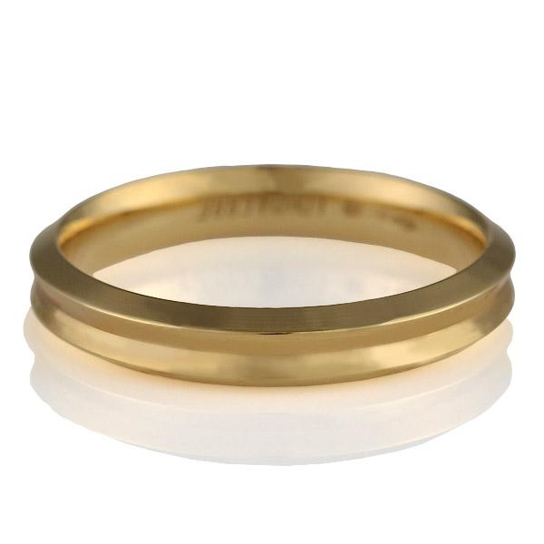 ( Italian Brand Jewelry ウノアエレ ) K18イエローゴールド ペアリング