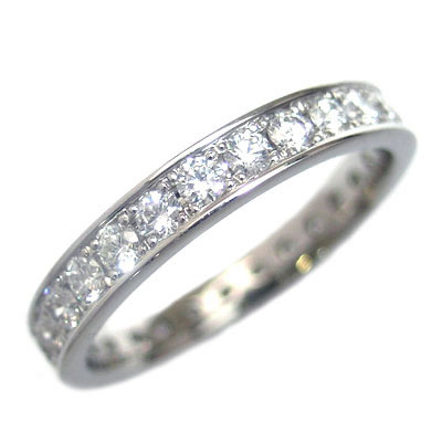 プラチナ ダイヤモンドフルエタニティリング(Brand Jewelry L'or)