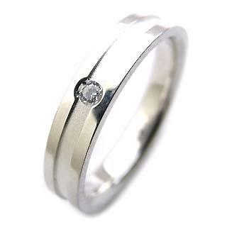 ( Brand Jewelry Angerosa ) Ptダイヤモンドペアリング