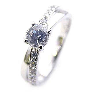 ( Brand Jewelry Angerosa ) Pt ダイヤモンドリング(婚約指輪・エンゲージリング) 末広 スーパーSALE【今だけ代引手数料無料】
