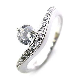 美品  ( Brand Jewelry Angerosa ) Pt ダイヤモンドリング(婚約指輪・エンゲージリング)【】 【DEAL】 末広 スーパーSALE【今だけ手数料無料】, 上川郡 c713e003