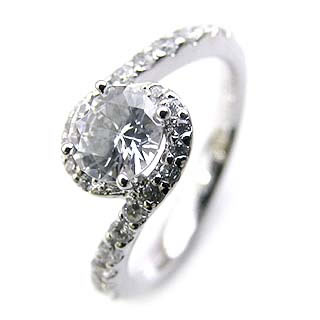 ( Brand Jewelry Angerosa ) Pt ダイヤモンドリング(婚約指輪・エンゲージリング) 【DEAL】 末広 スーパーSALE