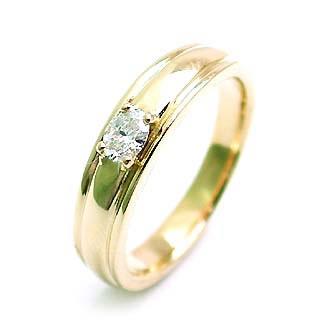 ( 4月誕生石 ) K18ダイヤモンドペアリング(特注サイズ)