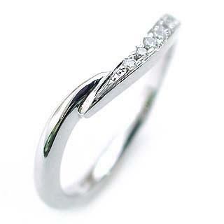 (Brand Jewelry fresco) Pt ダイヤモンドペアリング(特注サイズ) 末広 スーパーSALE【今だけ代引手数料無料】