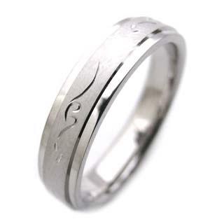 ( Brand Jewelry Angerosa ) K18WGペアリング(特注サイズ)