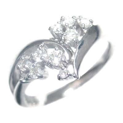 スイート エタニティ ダイヤモンド 10 個 K18ホワイトゴールドダイヤモンドリング 結婚 10周年記念 末広 スーパーSALE