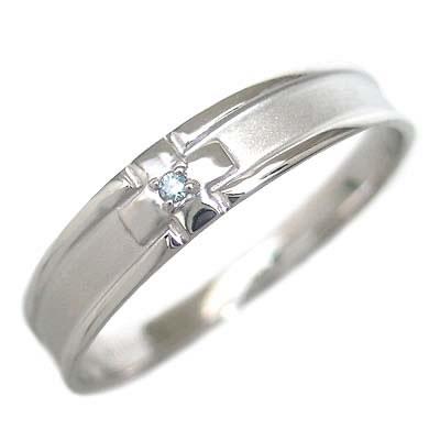 ( Brand Jewelry me. ) ホワイトゴールド ダイヤモンドペアリング【DEAL】