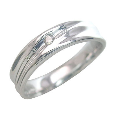ペアリング K18ホワイトゴールド 結婚指輪・マリッジリング・ 末広 スーパーSALE【今だけ代引手数料無料】