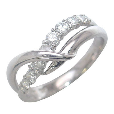 スイート エタニティ ホワイトゴールド ダイヤモンドリング 結婚 10周年記念 【DEAL】 末広 スーパーSALE【今だけ代引手数料無料】