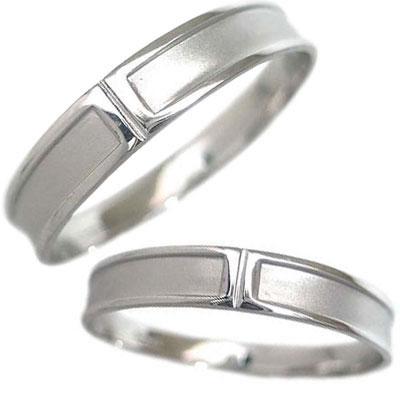 ( Brand Jewelry me. ) ホワイトゴールド ペアリング 末広 スーパーSALE