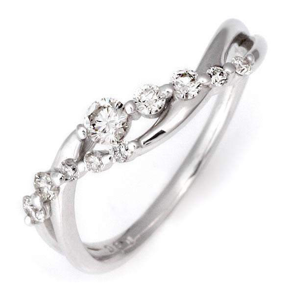 スイート エタニティ ダイヤモンド リング ダイヤモンド 指輪 鑑別書付き 結婚 10周年記念 【DEAL】