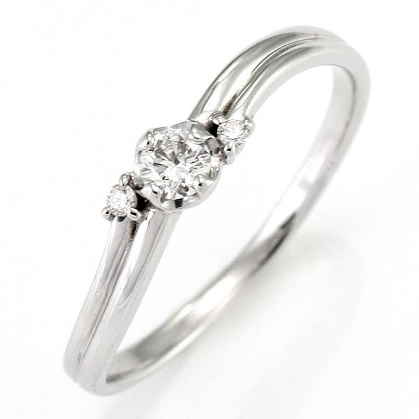 ダイヤモンド リング ダイヤモンドリング 指輪 ホワイトゴールド 鑑別書付き 末広 スーパーSALE