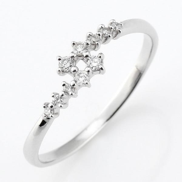 スイート エタニティ ダイヤモンド 10 個 ダイヤモンド リング ダイヤモンド 指輪 結婚 10周年記念【DEAL】