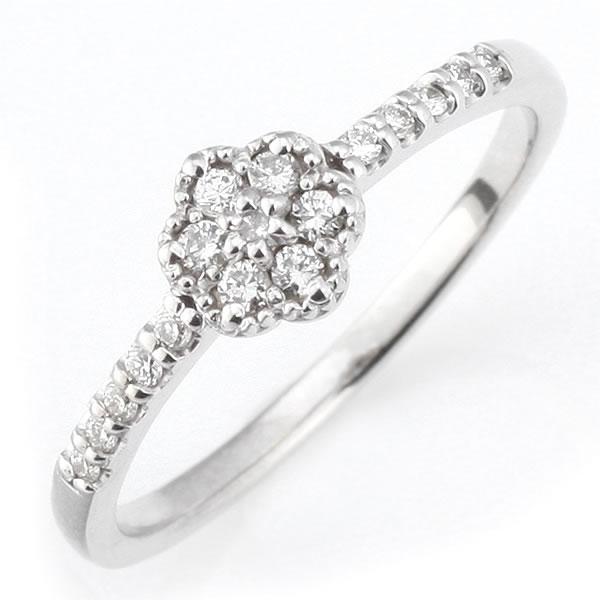 ダイヤモンド リング ダイヤモンドリング 指輪 ホワイトゴールド 鑑別書付き 末広 スーパーSALE【今だけ代引手数料無料】