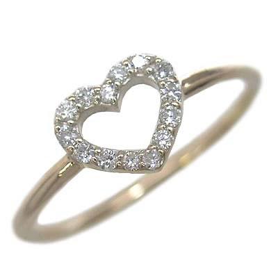 ( Brand Jewelry me. ) K10ゴールド ダイヤモンドリング