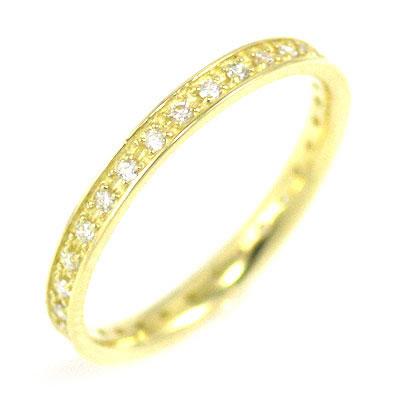( Brand Jewelry me. ) K18イエローゴールド ダイヤモンドフルエタニティリング 末広 スーパーSALE【今だけ代引手数料無料】