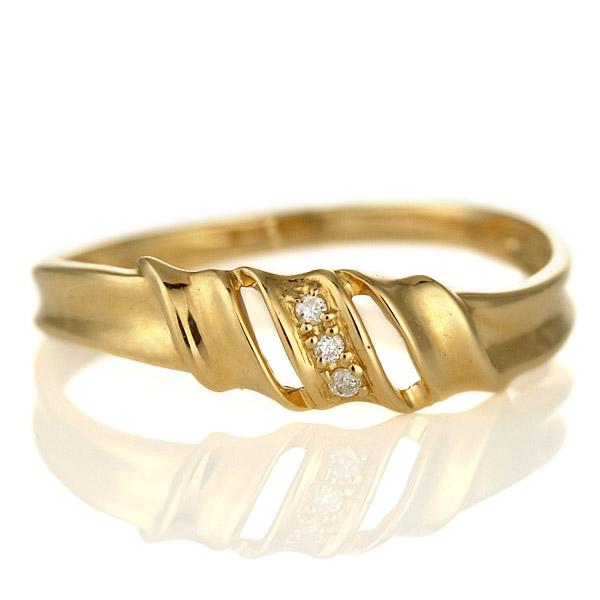 婚約指輪 エンゲージリング ダイヤモンド 18金 金 K18 18k イエローゴールド 人気 おすすめ レディース 女性【DEAL】