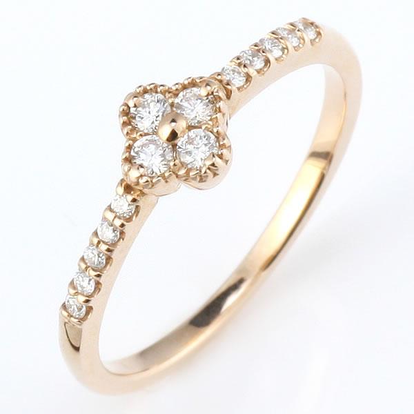 ダイヤモンド リング ダイヤモンドリング 指輪 ピンクゴールド 鑑別書付き