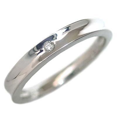 メンズリング プラチナ900 結婚指輪・マリッジリング・ペアリング(ダイヤモンド入り) 末広 スーパーSALE【今だけ代引手数料無料】