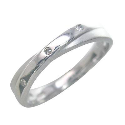 ( Brand Jewelry me. ) プラチナ900 ダイヤモンドペアリング
