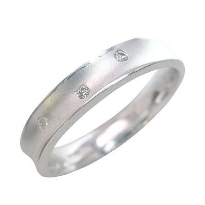 ( Brand Jewelry me. ) プラチナ900 ダイヤモンドペアリング 末広 スーパーSALE【今だけ代引手数料無料】