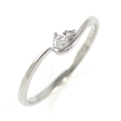 ( Brand Jewelry me. ) プラチナダイヤモンドエンゲージリング(婚約指輪) 末広 スーパーSALE