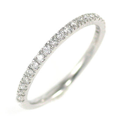 ( Brand Jewelry me. ) プラチナダイヤモンドエンゲージリング(婚約指輪)