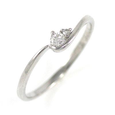 ( Brand Jewelry me. ) プラチナダイヤモンドエンゲージリング(婚約指輪)【DEAL】