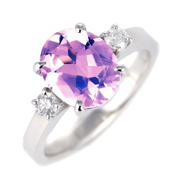 アメジスト ダイヤモンド リング レディース プラチナ 2月 誕生石 指輪 末広 スーパーSALE【今だけ代引手数料無料】