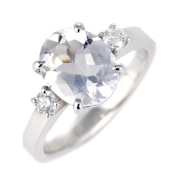 ムーンストーン ダイヤモンド リング レディース プラチナ 6月 誕生石 指輪
