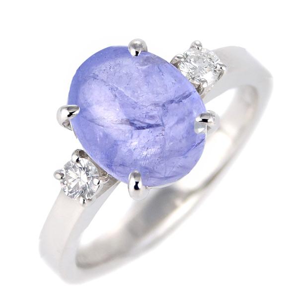 ゾイサイト タンザナイト ダイヤモンド リング レディース プラチナ 12月 誕生石 指輪