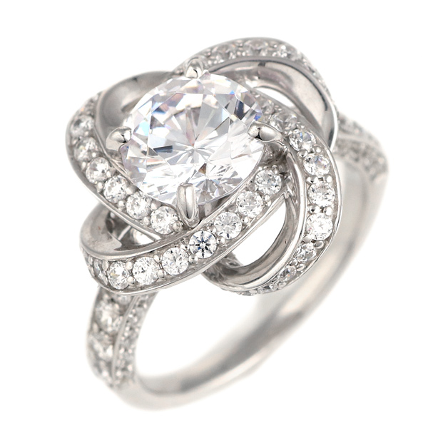 2カラット ダイヤモンド リング 合計3カラット 指輪 プラチナ900 大粒 ダイヤ 2ct 取り巻き 結婚記念日 退職記念 ギフト プレゼント