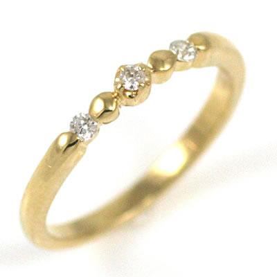ピンキーリング ピンキー リング ゴールド ダイヤモンド ファランジリング 【DEAL】