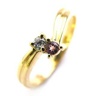 10月誕生石 ピンキーリング ピンキー リング ピンクゴールド ダイヤモンド フラワー ファランジリング 【DEAL】