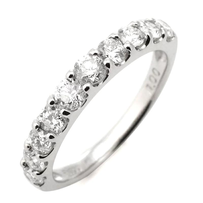 Pairing marriage rings wedding rings diamond eternity rings 1 Carat half eternity