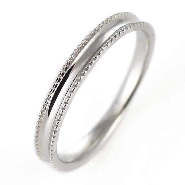 ペアリング マリッジリング 結婚指輪 K18ホワイトゴールド【DEAL】