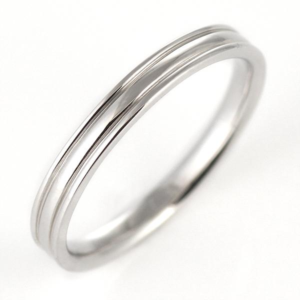 ペアリング マリッジリング 結婚指輪 K18ホワイトゴールド