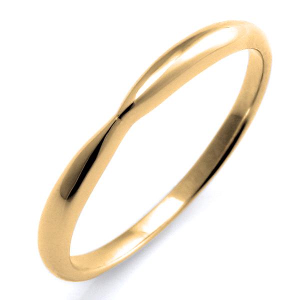 結婚指輪 マリッジリング イエローゴールド リング