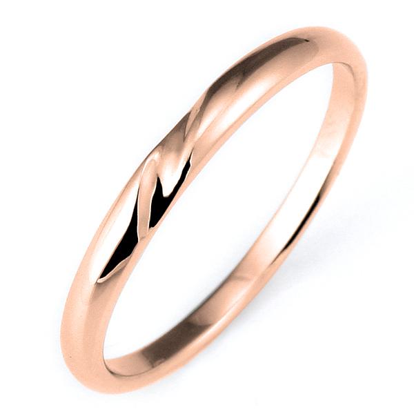 結婚指輪 マリッジリング ピンクゴールド リング