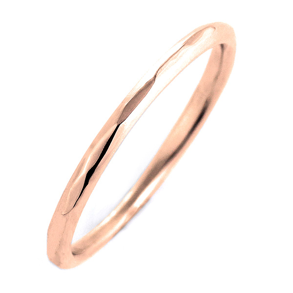 ペアリング 結婚指輪 マリッジリング ピンクゴールド リング