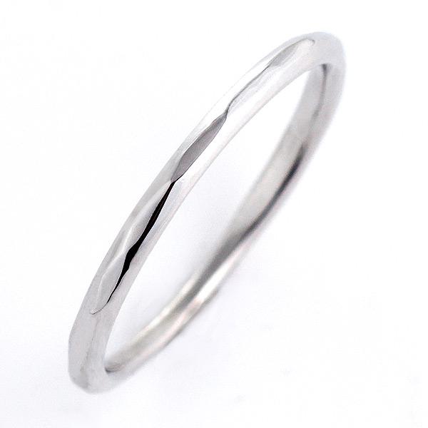 結婚指輪 マリッジリング ホワイトゴールド リング 末広 スーパーSALE【今だけ代引手数料無料】