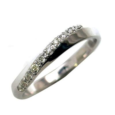 結婚指輪・マリッジリング・ペアリング(ホワイトゴールド ダイヤモンド) 末広 スーパーSALE【今だけ代引手数料無料】
