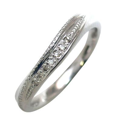 結婚指輪・マリッジリング・ペアリング(ホワイトゴールド ダイヤモンド)