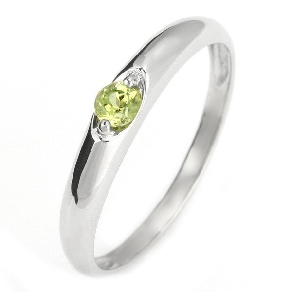 メンズリング メンズリング 結婚指輪 マリッジリング メンズリング プラチナ リング ペリドット 8月 誕生石 末広 スーパーSALE【今だけ代引手数料無料】