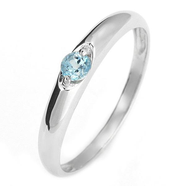 プラチナ リング トパーズ ブルートパーズ 11月 誕生石 プラチナ リング 指輪【DEAL】