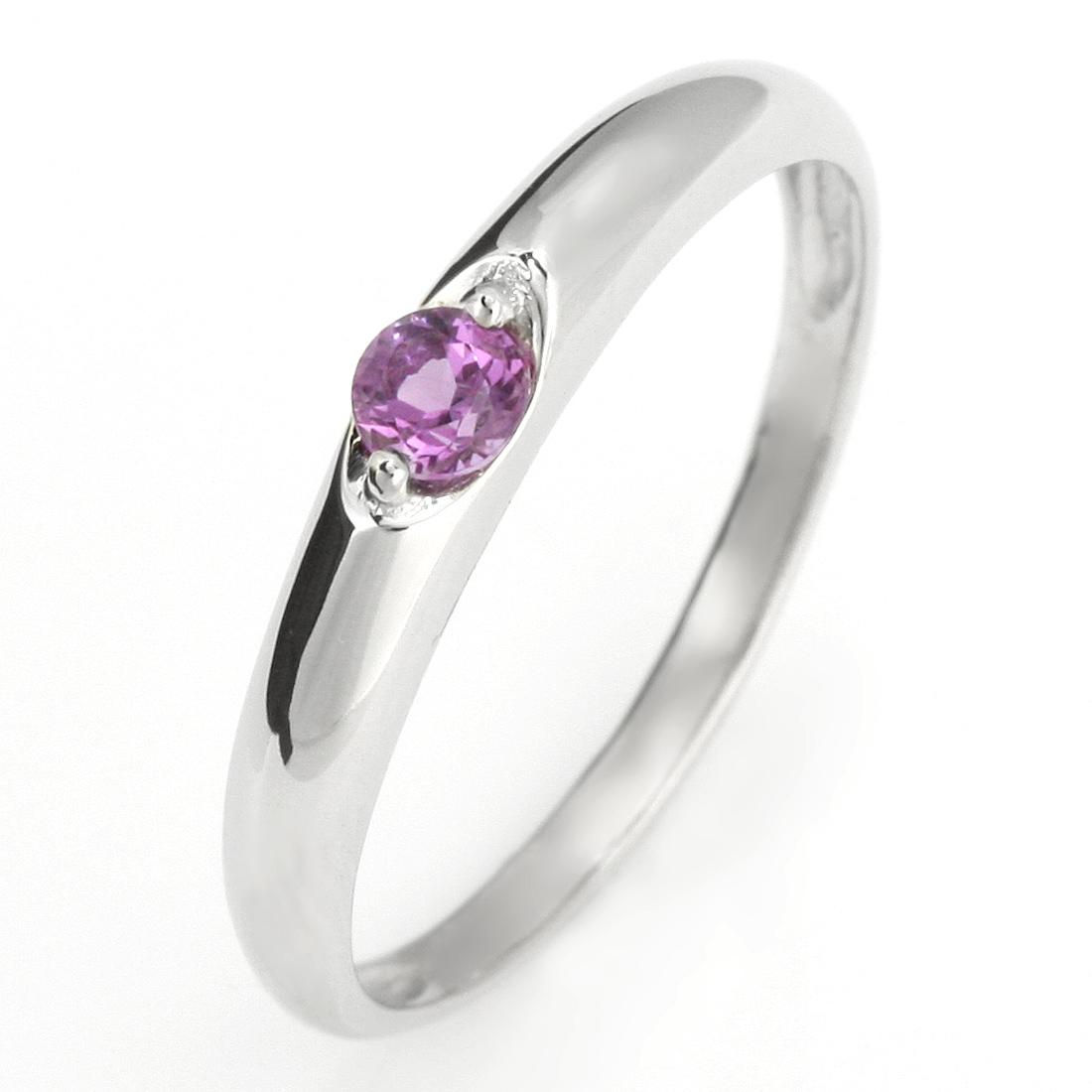 ペアリング 結婚指輪 マリッジリング プラチナ リング アメジスト 2月 誕生石【DEAL】