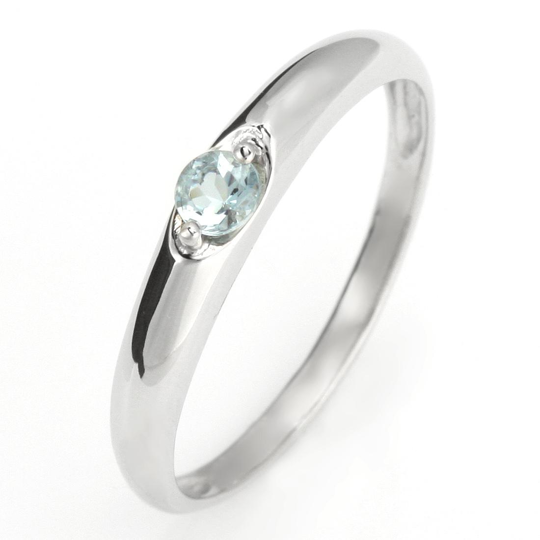 ペアリング 結婚指輪 マリッジリング プラチナ リング アクアマリン 3月 誕生石【DEAL】