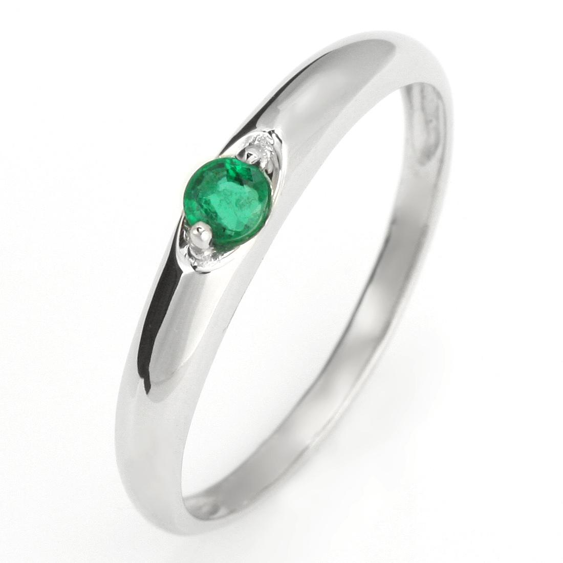 ペアリング 結婚指輪 マリッジリング プラチナ リング エメラルド 5月 誕生石【DEAL】