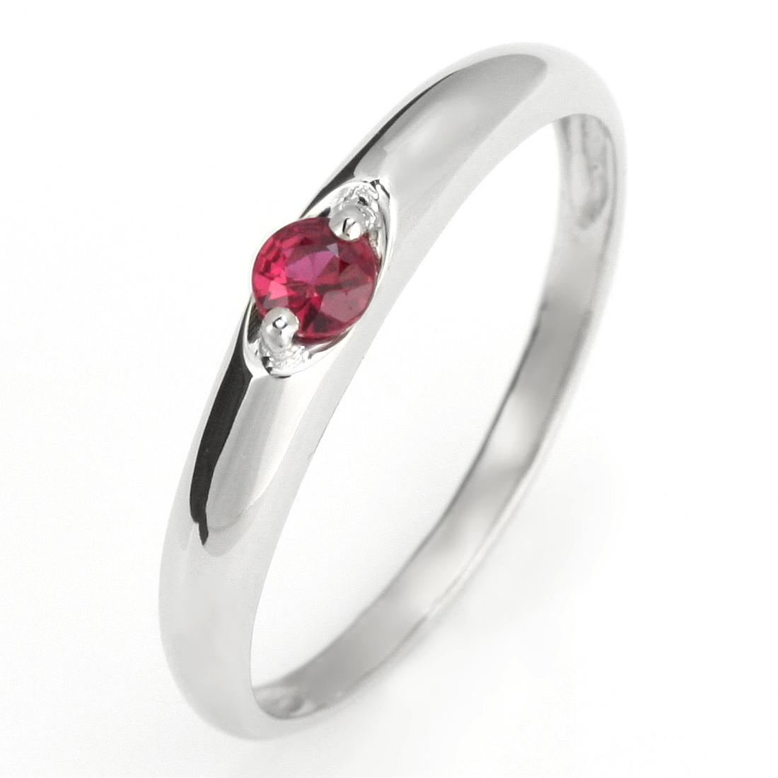 ペアリング 結婚指輪 マリッジリング プラチナ リング ルビー 7月 誕生石【DEAL】