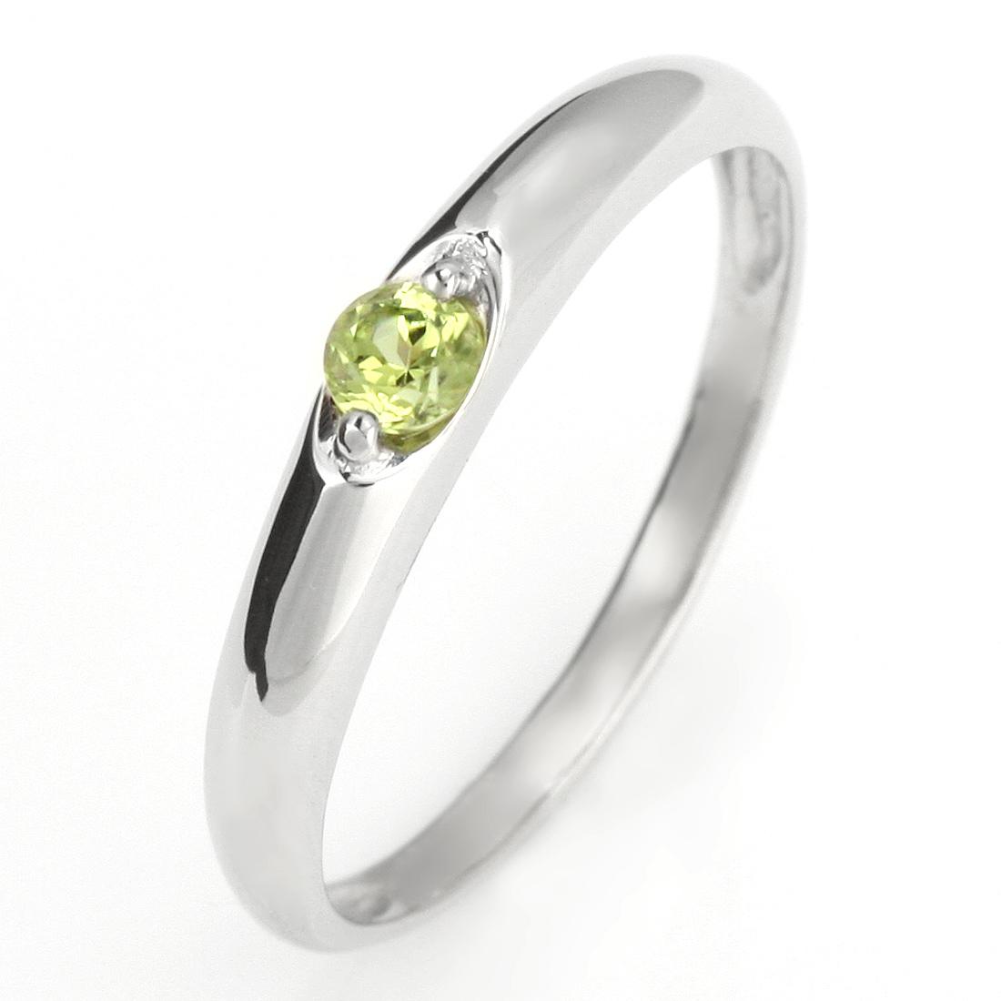 ペアリング 結婚指輪 マリッジリング プラチナ リング ペリドット 8月 誕生石【DEAL】